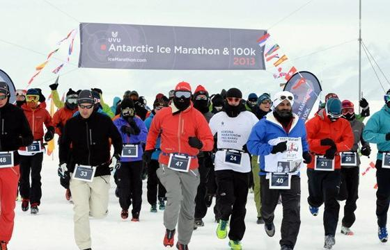 Antarctic Ice Marathon ~ 2014