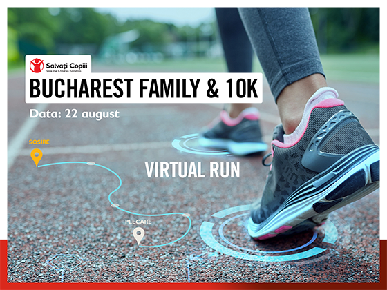 UNIQA Asigurări Bucharest Family & 10K - Virtual Run ~ 2020