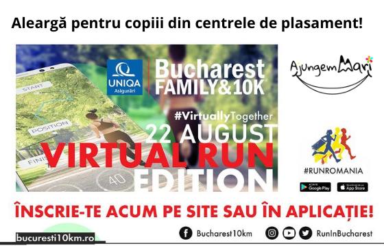 UNIQA Asigurări Bucharest Family & 10K - Virtual Run ~ 2020