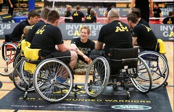 Jocurile Paralimpice Invictus ~ 2016