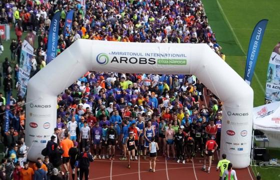 Maratonul Internațional AROBS Cluj Napoca ~ 2016