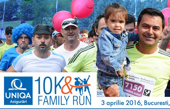 Uniqa 10K & Family Run ~ 2016