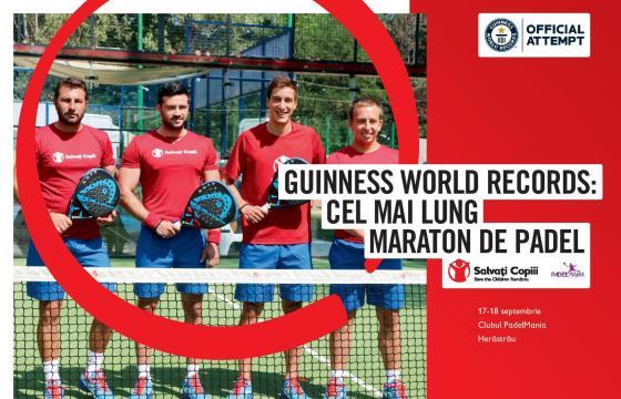 Padel - Guinness World Record in Romania