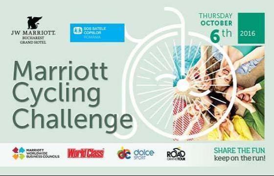 Marriott Cycling Challenge – Pedalează pentru copiii de la SOS Satele Copiilor!