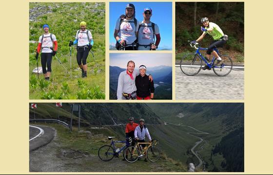 Yuppi Ride ~ 2017 – CSM Rupicapra pedalează 1800 km și urcă pe Mont Blanc, pentru copiii bolnavi din Tabara Yuppi