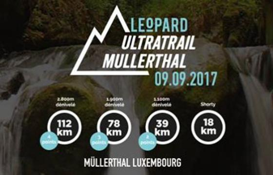 Leopard UTML Ultratrail du Mullerthal ~ 2017