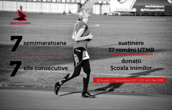 7 semimaratoane în 7 zile consecutive