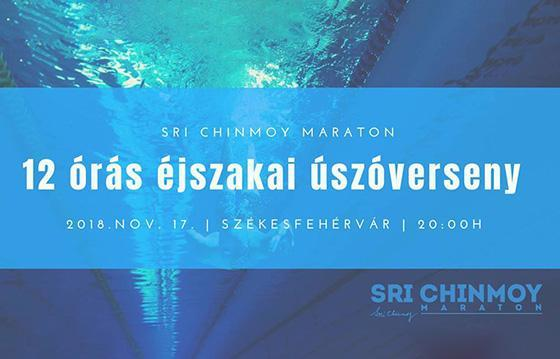 Sri Chinmoy 12 Hour Night Swimming ~ 2018
