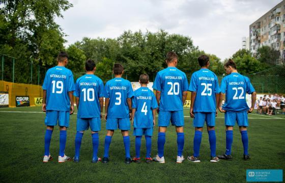 Un meci cat un vis: Nationala SOS - Dan Chilom`s Friends Star