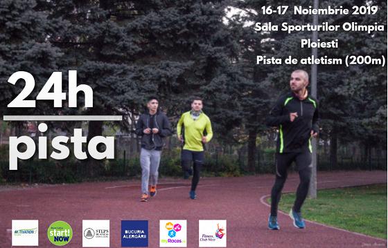 24 de ore alergare pe pista de 200m pentru Motivation