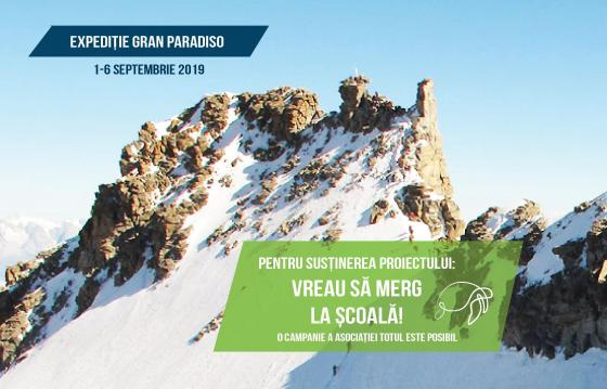 Expediție românească pe Gran Paradiso