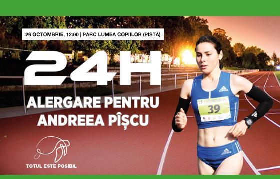 24H DE ALERGARE PENTRU ANDREEA PÎȘCU ~ 2019