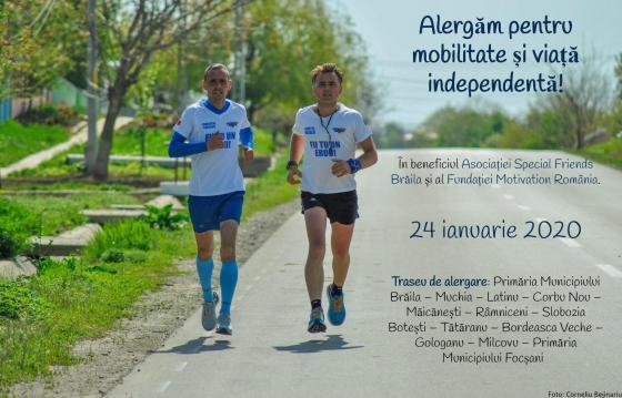 Alergăm pentru mobilitate și viață independentă