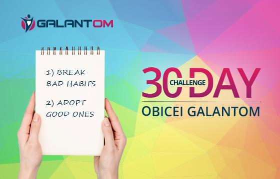 Un obicei Galantom - 30 day Challenge ~ 2020