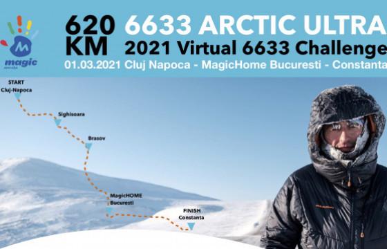 6633 Arctic Ultra Virtual Race ~ 2021 (de la Cluj-Napoca până la Constanța)