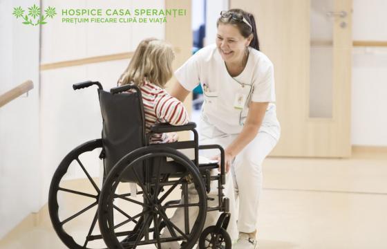 Sustin Serviciile de ingrijire furnizate de Fundatia Hospice Casa Sperantei