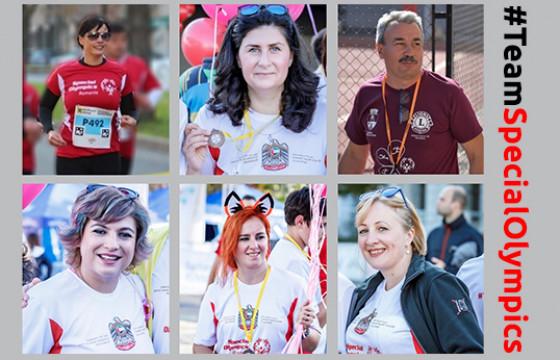 #TeamSpecialOlympics România aleargă pentru ca BRAVII cu dizabilități intelectuale să fie mereu în mișcare