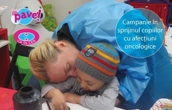 ARIPI CA ÎN CER! Pe acoperișul Greciei, pentru copiii bolnavi de cancer