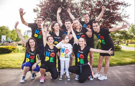 Alerg pentru Sara Maria la Bucharest Marathon