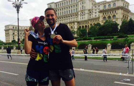 Alergam pentru Sara Maria la Tel Aviv!