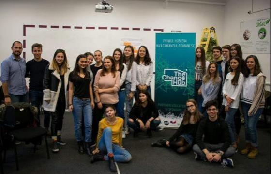 Echipa The Change Hub sustine copiii internati la Marie Curie