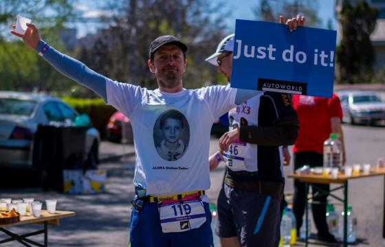 100 km run for orphan children