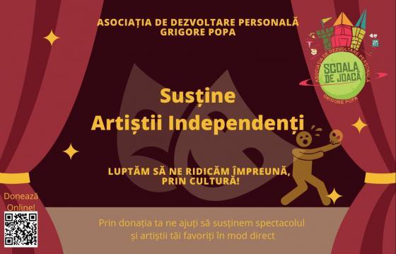 Sustine artistii independenti