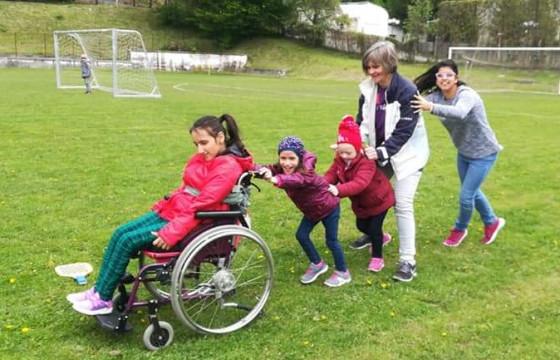 Finanțarea programelor de stimulare a motricității destinate copiilor și adulților cu dizabilități