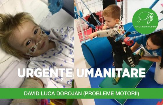 URGENȚE UMANITARE | DAVID LUCA DOROJAN