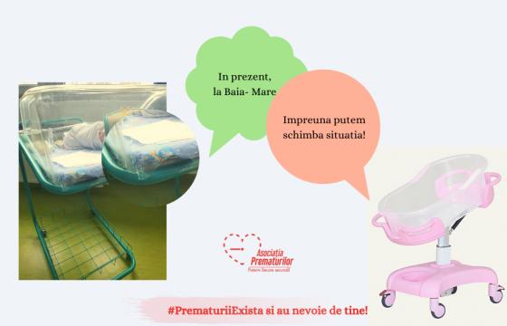 Campanie umanitara pentru prematurii si nou-nascutii din Baia-Mare