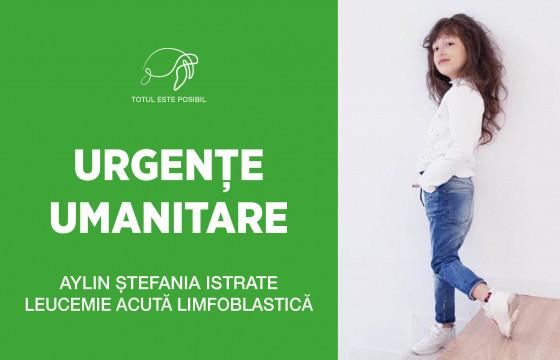 URGENȚE UMANITARE | AYLIN ȘTEFANIA ISTRATE