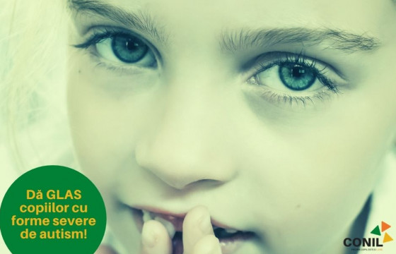 Dă GLAS copiilor nonverbali cu forme severe de autism sau alte afecțiuni neuro psihomotorii