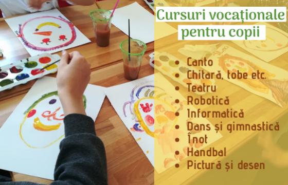 Cursuri vocaţionale pentru copii ~ 2021