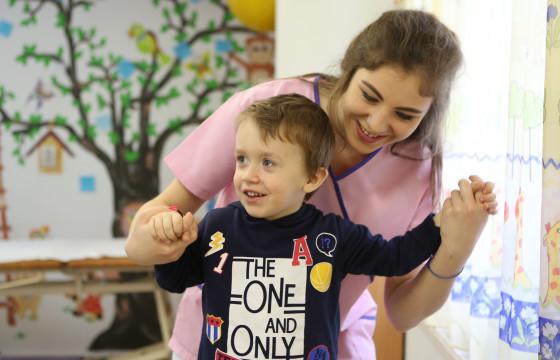 Kinetoterapie pentru copiii cu dizabilități - Centrul Emanuel