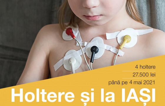 Holtere și la Iași