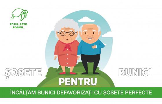 ȘOSETE PENTRU BUNICI