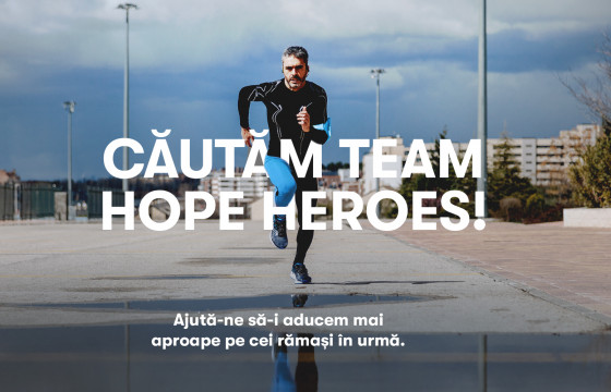 Liga Eroilor Team Hope în #TURdeBINE