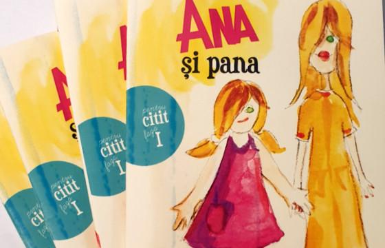 """50 de cărticele pentru învățarea cititului pentru copiii cu CES - colecția """"Arianna citește"""""""