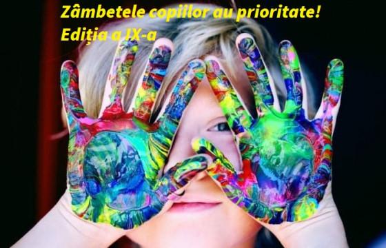 Zâmbetele copiilor au prioritate! Ediția a IX-a