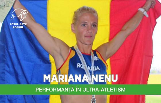 MARIANA NENU | PERFORMANȚĂ ÎN ULTRA-ATLETISM
