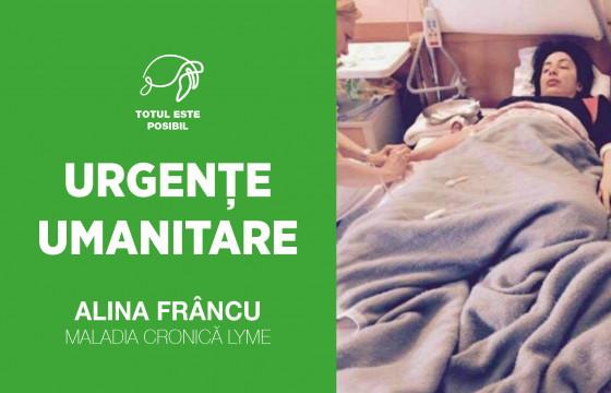 URGENȚE UMANITARE | ALINA FRÂNCU