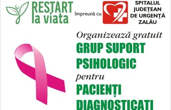 Grup suport psihologic gratuit adresat pacienților oncologici