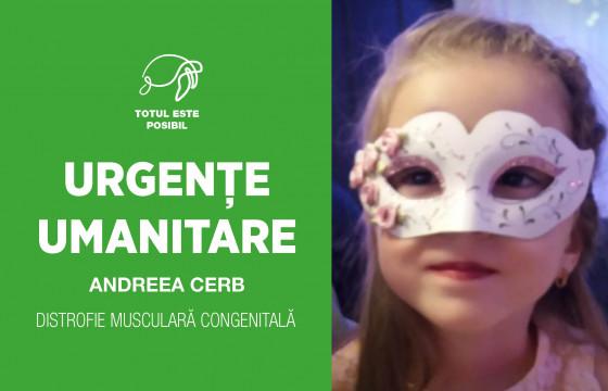 URGENȚE UMANITARE | ANDREEA CERB