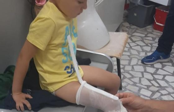 Reamenajarea camerei pentru VALENTIN , baietelul cu o proteza la piciorul drept