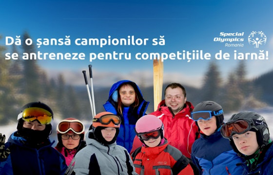 Tabere pentru sporturile de Iarnă: Campionii trebuie să se antreneze!