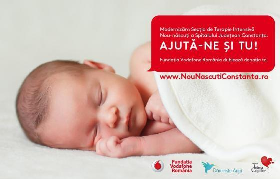 Noua Sectie de terapie intensiva nou-nascuti Constanta