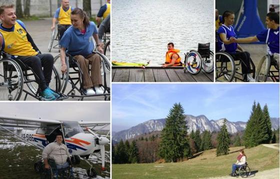 Recuperare activa si viata independenta pentru persoanele în scaun rulant
