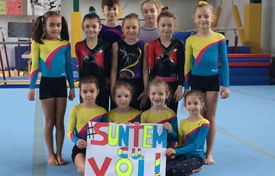 Echipamente sportive pentru Asociatia Judeteana de Gimnastica Arad