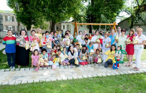 Romanian children with TB
