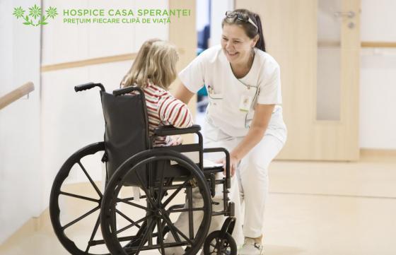 Susține serviciile de îngrijire furnizate de HOSPICE Casa Speranței